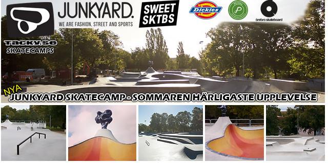 Tacky.se och Junkyard Skatecamp 2017 – Sommarens härligaste upplevelse