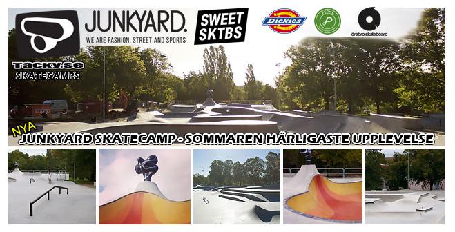 Bara skateboards i parken under vecka 26
